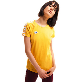 arena Team T-Shirt Donna, lily yellow/white/lily yellow